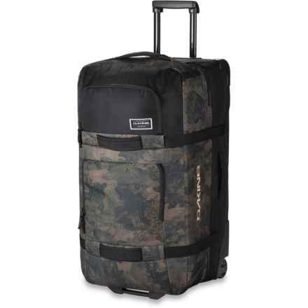 DaKine 85L Split Roller Suitcase in Peatcamo - Closeouts