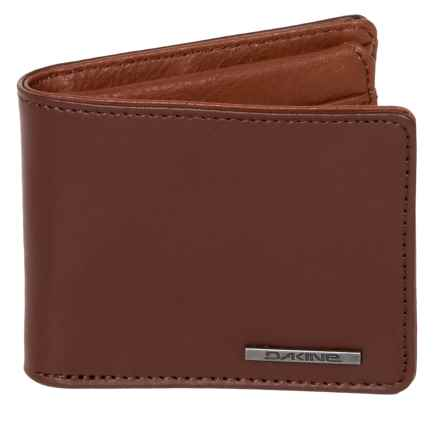 DaKine Agent Leather Wallet in Brown - Closeouts