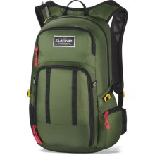 DaKine Amp 18L Hydration Pack - Large, 100 fl.oz. in Olive - Closeouts