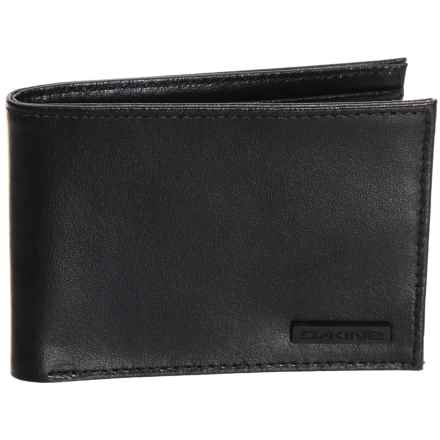 DaKine Archer Bifold Wallet - Leather in Black - Closeouts