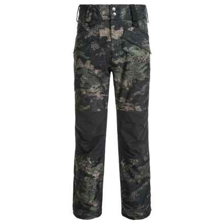DaKine Barlow PrimaLoft® Pants - Waterproof, Insulated (For Men) in Peat Camo/Black - Closeouts