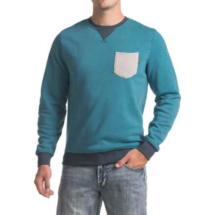 DaKine Belmont Crew Sweatshirt (For Men) in Ink Blue - Closeouts