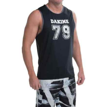 DaKine Benched Tank Rash Guard - UPF 30+, Sleeveless (For Men) in Black - Closeouts