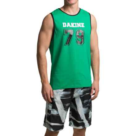 DaKine Benched Tank Rash Guard - UPF 30+, Sleeveless (For Men) in Green - Closeouts