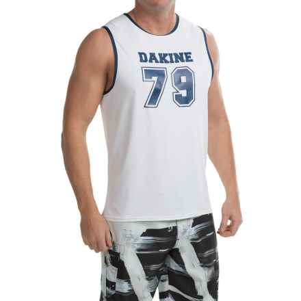 DaKine Benched Tank Rash Guard - UPF 30+, Sleeveless (For Men) in White - Closeouts