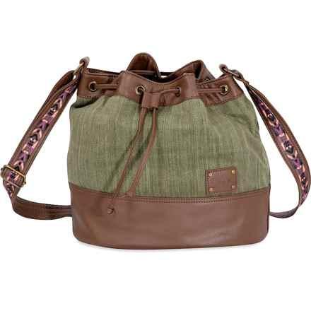 DaKine Bianca Crossbody Bucket Bag (For Women) in Olive - Closeouts