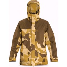 DaKine Bishop Jacket - Insulated (For Men) in Carafe/Brown Camo - Closeouts
