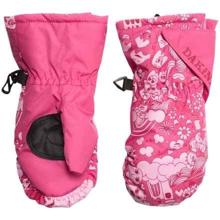 DaKine Brat Mittens - Insulated (For Toddlers) in Castles - Closeouts