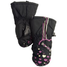 DaKine Brat Mittens - Insulated (For Toddlers) in Hearts - Closeouts