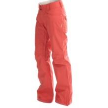 DaKine Britt II Snowboard Pants - Waterproof (For Women) in Coral - Closeouts