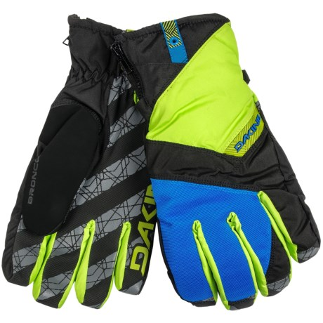 DaKine Bronco Gore-Tex® Gloves - Waterproof, Insulated (For Men) in Pacific Lime