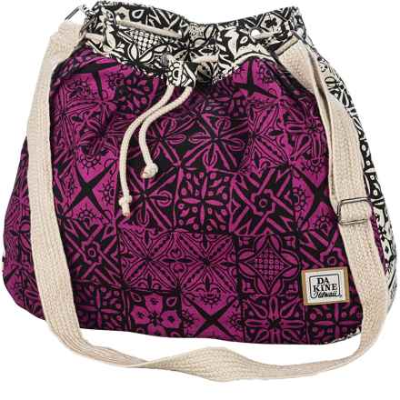 DaKine Callie Drawstring Tote Bag (For Women) in Kapacanvas - Closeouts
