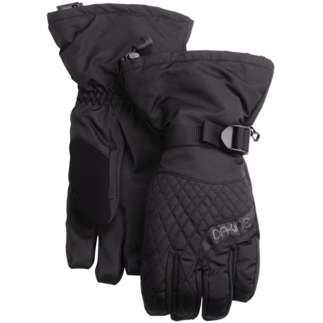 DaKine Camino 3-in-1 Gloves - Waterproof, Insulated (For Women) in Black