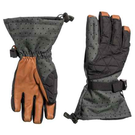 DaKine Camino Gloves - Waterproof, Insulated (For Women) in Pixie - Closeouts