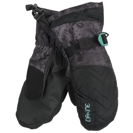 DaKine Camino Mittens with Liners - Waterproof, Insulated (For Women) in Leopard