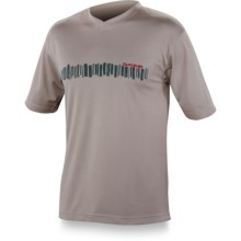 DaKine Cascade Bike Jersey - Short Sleeve (For Men) in Light Grey - Closeouts