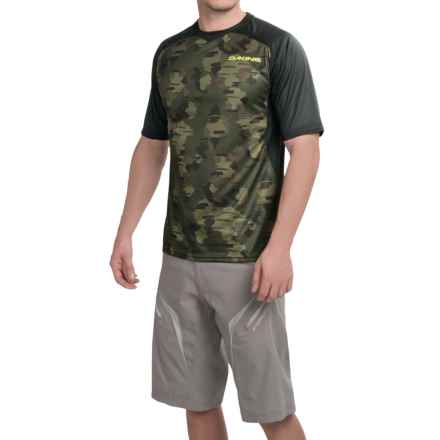 DaKine Charger Bike Jersey - Short Sleeve (For Men) in Camo - Closeouts