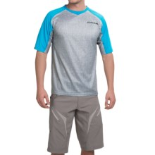 DaKine Charger Bike Jersey - Short Sleeve (For Men) in Light Carbon - Closeouts