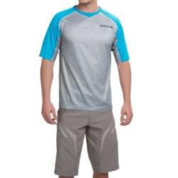 DaKine Charger Bike Jersey - Short Sleeve (For Men) in Light Carbon