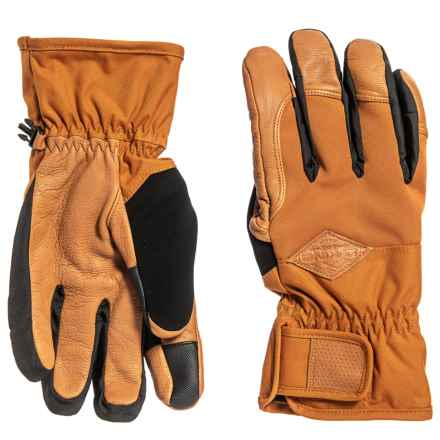 DaKine Charger Gloves - Insulated (For Men) in Ginger - Closeouts