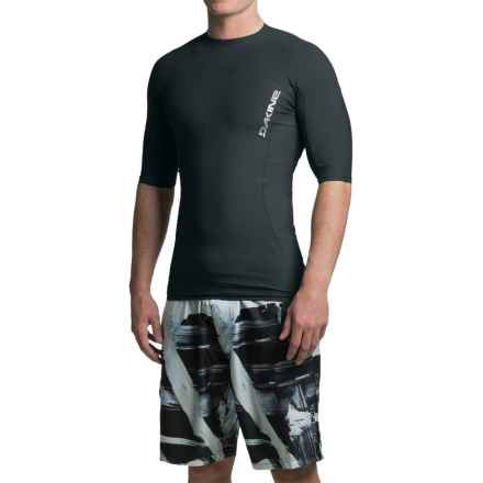 DaKine Covert Rash Guard - UPF 50+, Short Sleeve (For Men) in Black - Closeouts