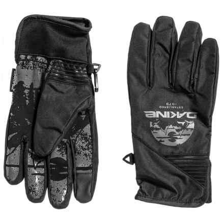 DaKine Crossfire Gloves (For Men) in Black Mountain - Closeouts