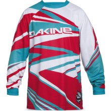 DaKine Descent Cycling Jersey - Long Sleeve (For Men) in Threedee - Closeouts