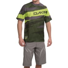 DaKine Descent Jersey - Crew Neck, Short Sleeve (For Men) in Cypress - Closeouts