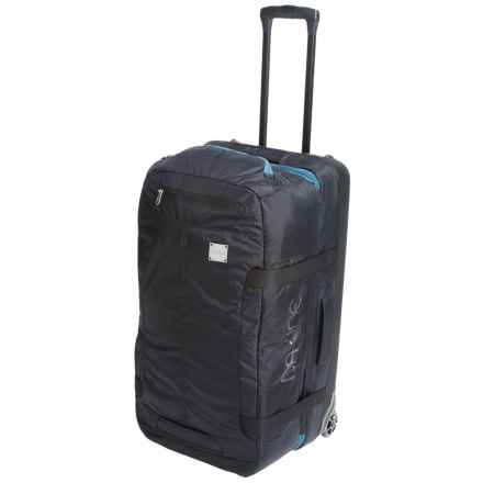 DaKine DLX Rolling Suitcase - 80L in Black Ripstop - Closeouts