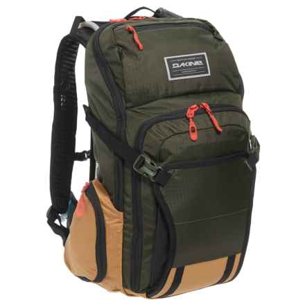 DaKine Drafter 18L Hydration Pack - Internal Frame, 100 oz. in Jungle - Closeouts