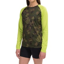 DaKine Dropout Jersey - Long Sleeve (For Women) in Camo - Closeouts