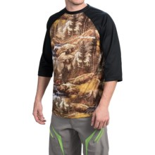 DaKine Dropout Shirt - 3/4 Sleeve (For Men) in Paradise - Closeouts
