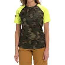 DaKine Dropout Shirt - Short Sleeve (For Women) in Camo - Closeouts