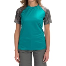 DaKine Dropout Shirt - Short Sleeve (For Women) in Harbor - Closeouts
