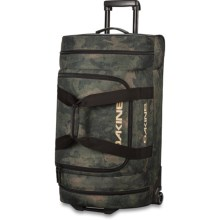 DaKine Duffel Roller Bag - 58L in Peat Camo - Closeouts