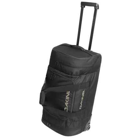 DaKine Duffel Roller Bag - 90L in Black - Closeouts