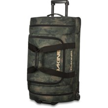 DaKine Duffel Roller Bag - 90L in Peat Camo - Closeouts