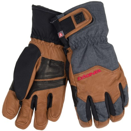 DaKine Excursion Gore-Tex® Gloves - Waterproof, Insulated (For Men) in Carbon