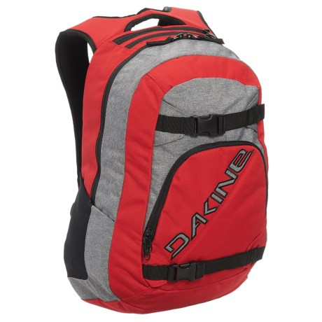 DaKine Explorer 26L Backpack in Red