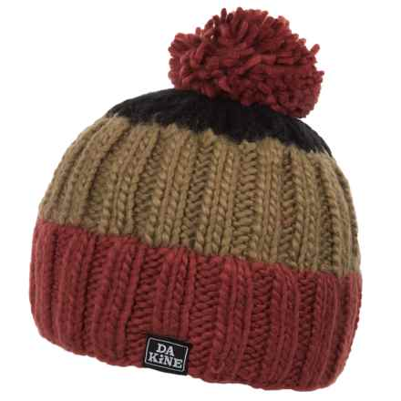 DaKine Farley Beanie (For Little and Big Kids) in Picante/Black - Closeouts