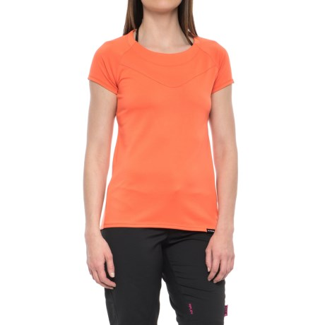 DaKine Faye Cycling Jersey - Short Sleeve (For Women) in Bright Coral