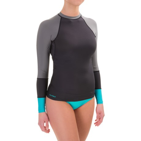 DaKine Flow Rash Guard - UPF 50, Snug Fit, Long Sleeve (For Women)