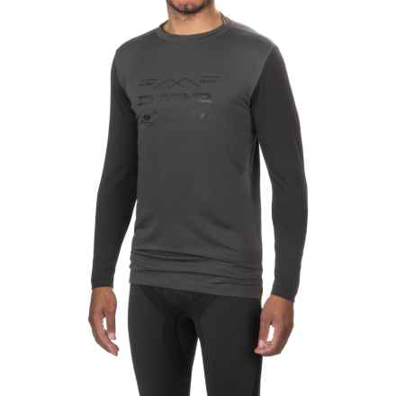 DaKine Grant Base Layer Top - Crew Neck, Long Sleeve (For Men) in Shadow/Black - Closeouts
