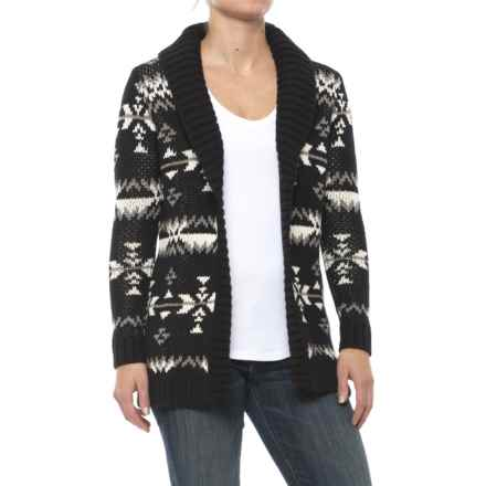 DaKine Griffon Cardigan Sweater (For Women) in Fireside - Closeouts