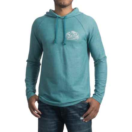 DaKine Hackett Hoodie Shirt - Long Sleeve (For Men) in Ink Blue - Closeouts
