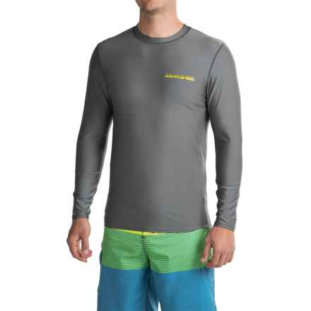 DaKine Heavy-Duty Surf Shirt with Chest Logo - UPF 50, Loose Fit, Long Sleeve (For Men) in Gunmetal - Closeouts