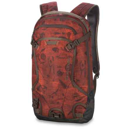 DaKine Heli Pack 12L Ski Backpack in Northwoods - Closeouts