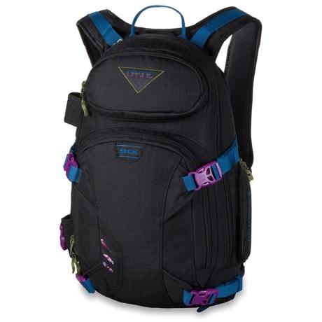 DaKine Heli Pro Deluxe Snowsport Backpack - 18L (For Women) in Blkripstop
