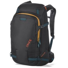 DaKine Heli Pro DLX Ski Backpack - 24L (For Women) in Black Ripstop - Closeouts