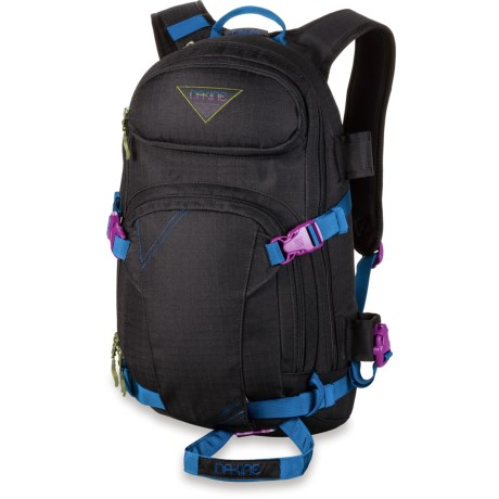 DaKine Heli Pro Snowsport Backpack - 18L (For Women) in Blkripstop